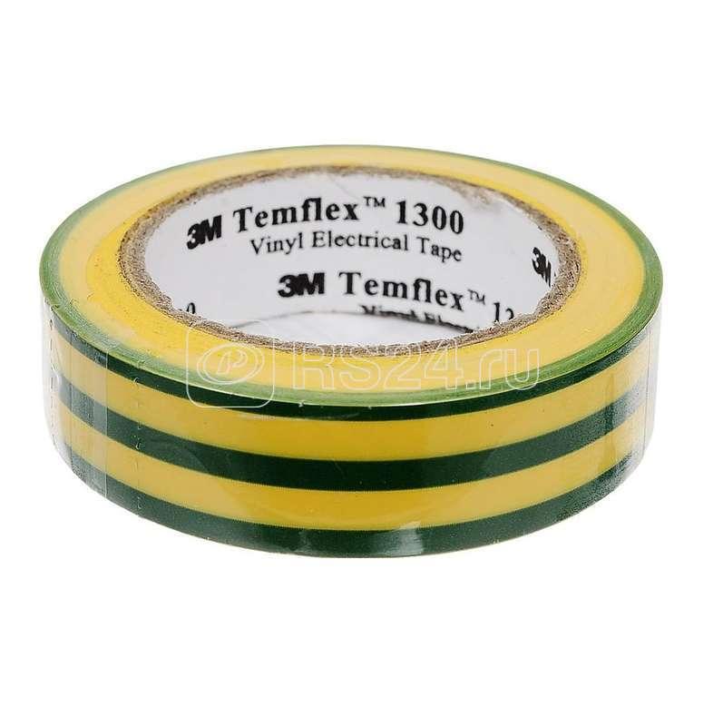 Изолента ПВХ 15мм Temflex 1300 жел./зел. (рул.10м) 3М 7100081324 купить в интернет-магазине RS24