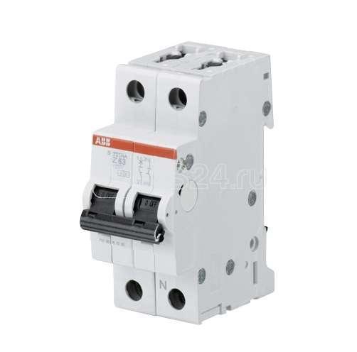Выключатель автоматический модульный 2п (1P+N) Z 4А 10кА S201M ABB 2CDS271103R0338 купить в интернет-магазине RS24