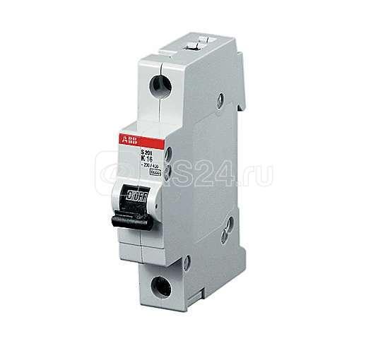 Выключатель автоматический модульный 1п Z 20А 10кА S201P ABB 2CDS281001R0488 купить в интернет-магазине RS24