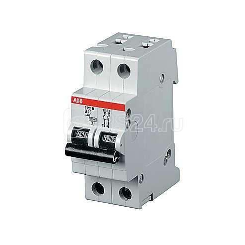 Выключатель автоматический модульный 2п C 40А 25кА S202P ABB 2CDS282001R0404 купить в интернет-магазине RS24