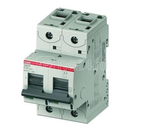 Выключатель автоматический модульный 2п K 25А 50кА S802S UC ABB 2CCS862001R1517 купить в интернет-магазине RS24