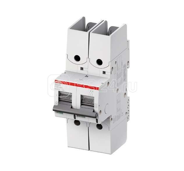 Выключатель автоматический модульный 2п K 10А 50кА S802S R UC ABB 2CCS862002R1427 купить в интернет-магазине RS24