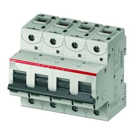 Выключатель автоматический модульный 4п B 10А 50кА S804S ABB 2CCS864001R0105 купить в интернет-магазине RS24