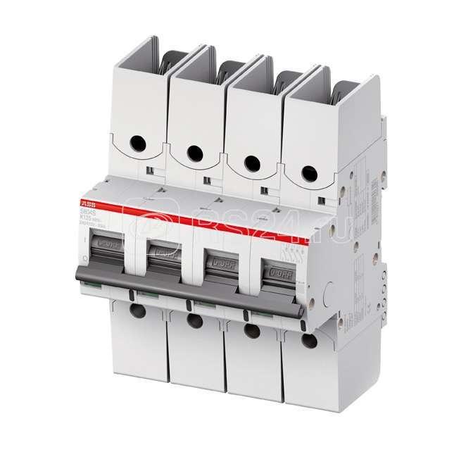 Выключатель автоматический модульный 4п K 8А 50кА S804S R ABB 2CCS864002R0407 купить в интернет-магазине RS24