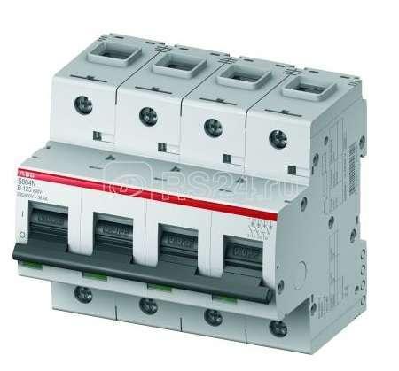 Выключатель автоматический модульный 4п B 40А 20кА S804N ABB 2CCS894001R0405 купить в интернет-магазине RS24