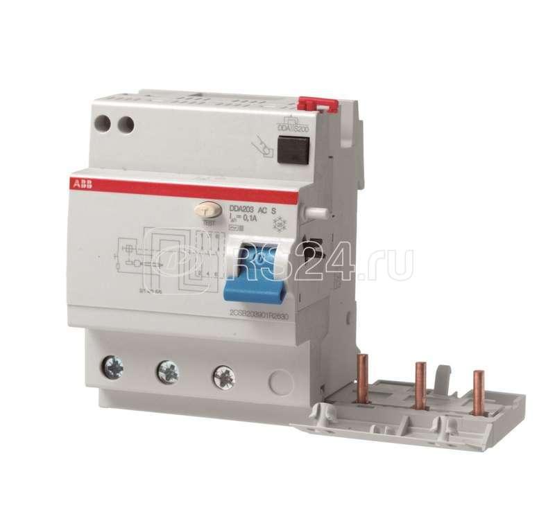 Блок диф. тока 4мод. DDA203 AC-63/0.3 ABB 2CSB203001R3630 купить в интернет-магазине RS24
