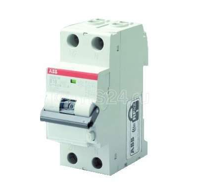 Выключатель автоматический дифференциального тока 2п C 10А 30мА тип A 10кА DS202C M APR ABB 2CSR272440R1104 купить в интернет-магазине RS24