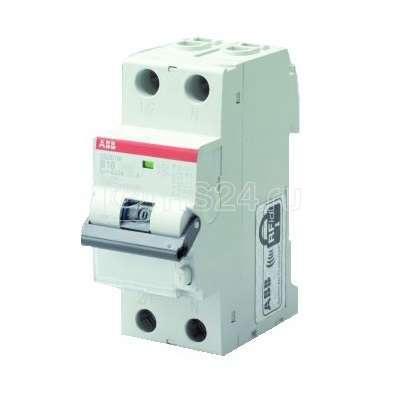 Выключатель авт. диф. тока B 6А 30мА тип AC DS201 M ABB 2CSR275040R1065 купить в интернет-магазине RS24
