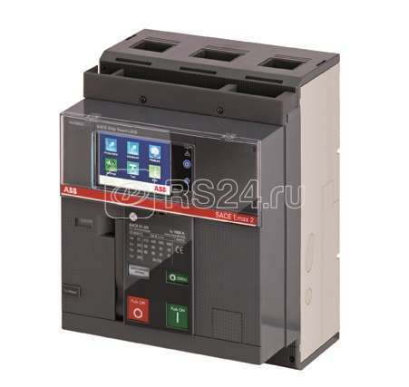 Выключатель авт. 3п E1.2B 1600 Ekip Dip LI 3p F F стац. ABB 1SDA070861R1 купить в интернет-магазине RS24