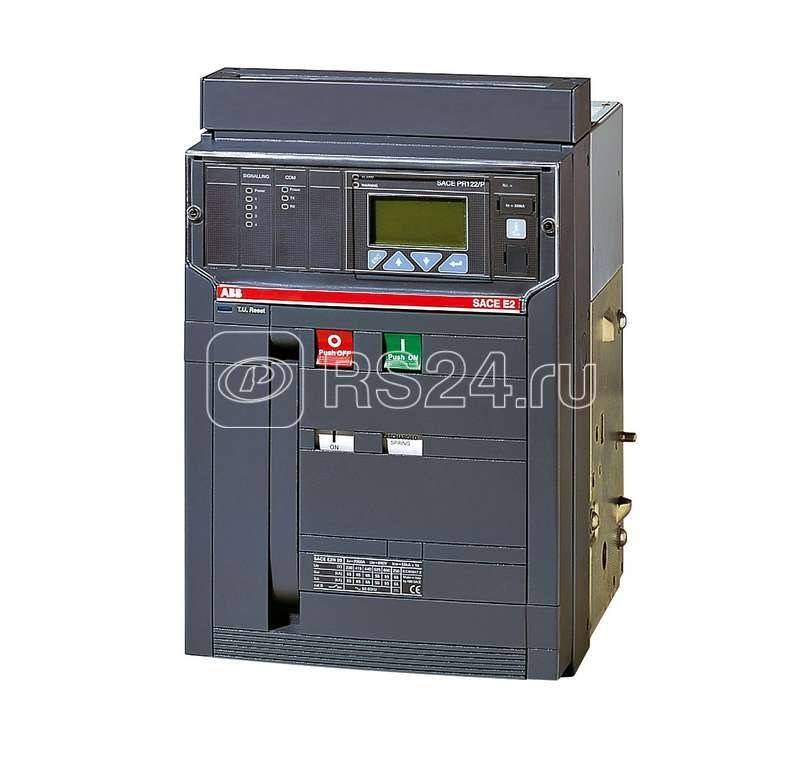 Выключатель авт. 3п E2B 2000 PR121/P-LSI In=2000А 3p W MP LTT (исполнение на -40С) выкат. ABB 1SDA055841R5 купить в интернет-магазине RS24