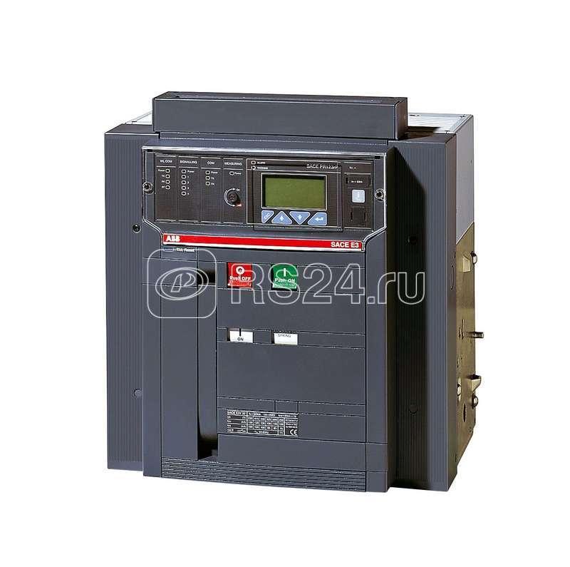 Выключатель авт. 3п E3H 1600 PR121/P-LSIG In=1600А 3p W MP LTT (исполнение на -40С) выкат. ABB 1SDA056418R5 купить в интернет-магазине RS24