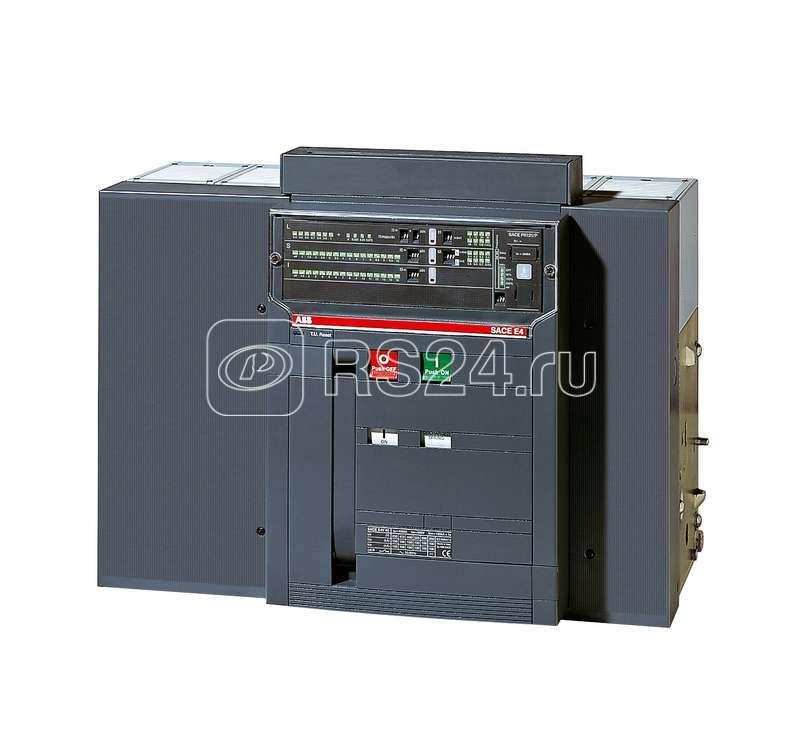 Выключатель авт. 4п E4H 4000 PR122/P-LSI In=4000А 4p W MP выкат. ABB 1SDA056876R1 купить в интернет-магазине RS24