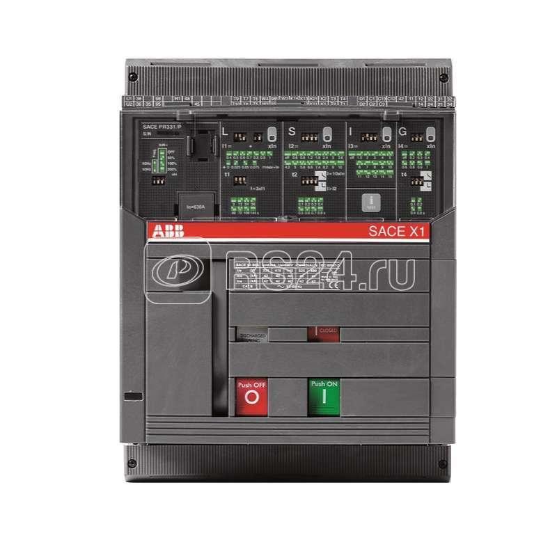 Выключатель авт. 4п X1B 1600 PR331/P LSIG In=1600А 4p F F стац. ABB 1SDA062580R1 купить в интернет-магазине RS24