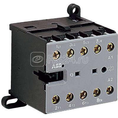 Миниконтактор BC 7-30-01-2.4-P 12А 400В AC3 катушка 17 32В DC ABB GJL1313009R5011 купить в интернет-магазине RS24