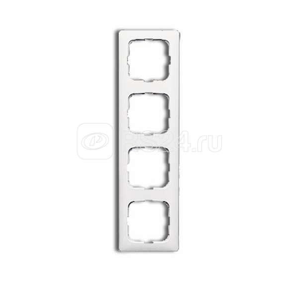 Рамка 4-м Reflex SI для кабель-каналов альпийский бел. ABB 1725-0-1497 купить в интернет-магазине RS24