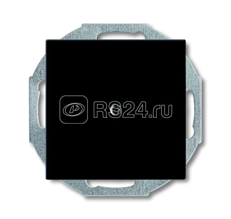 Заглушка с суппортом Basic 55 chateau-black ABB 1715-0-0315 купить в интернет-магазине RS24