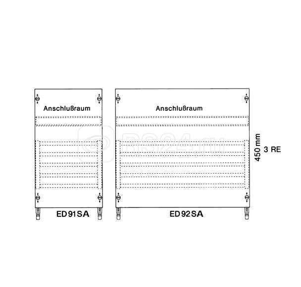 Панель с шинами 5х250 А ABB ED92SA купить в интернет-магазине RS24