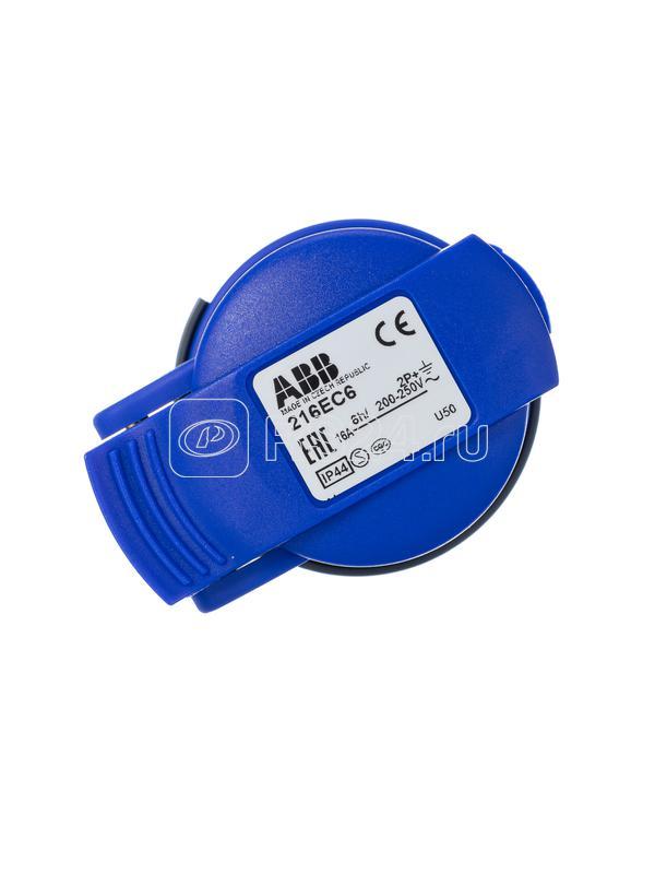 Вилка кабельная Easy&Safe 432EP6 32А 3P+N+E IP44 6ч ABB 2CMA101995R1000 купить в интернет-магазине RS24