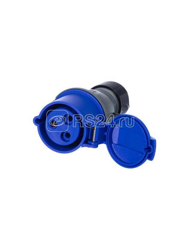 Розетка кабельная 216EC6 Easy&Safe 216EC6 16А 2P+E IP44 6ч ABB 2CMA102003R1000 купить в интернет-магазине RS24