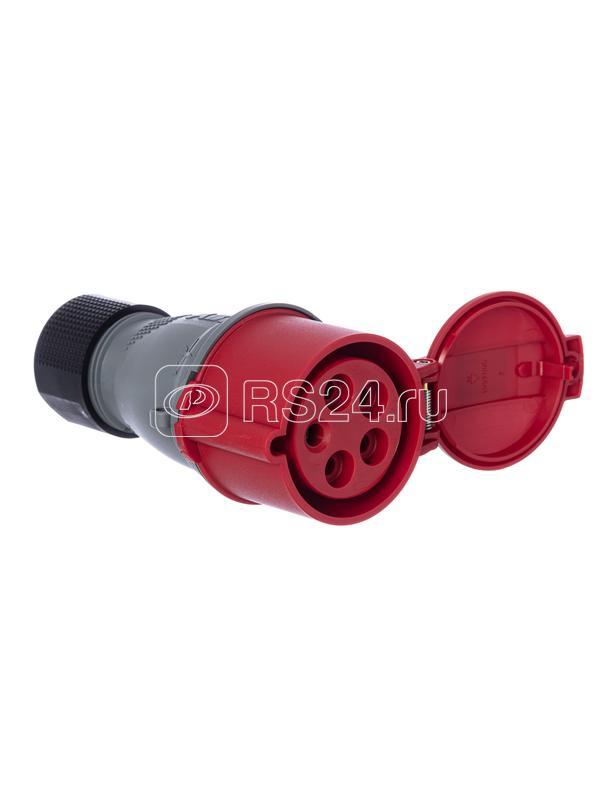 Розетка кабельная 416EC6 Easy&Safe 416EC6 16А 3P+N+E IP44 6ч ABB 2CMA102023R1000 купить в интернет-магазине RS24