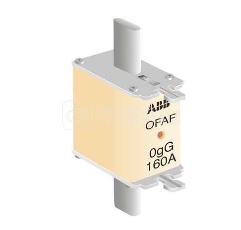 Предохранитель OFAF0H160 160А тип gG размер 0 ABB 1SCA022627R3170 купить в интернет-магазине RS24