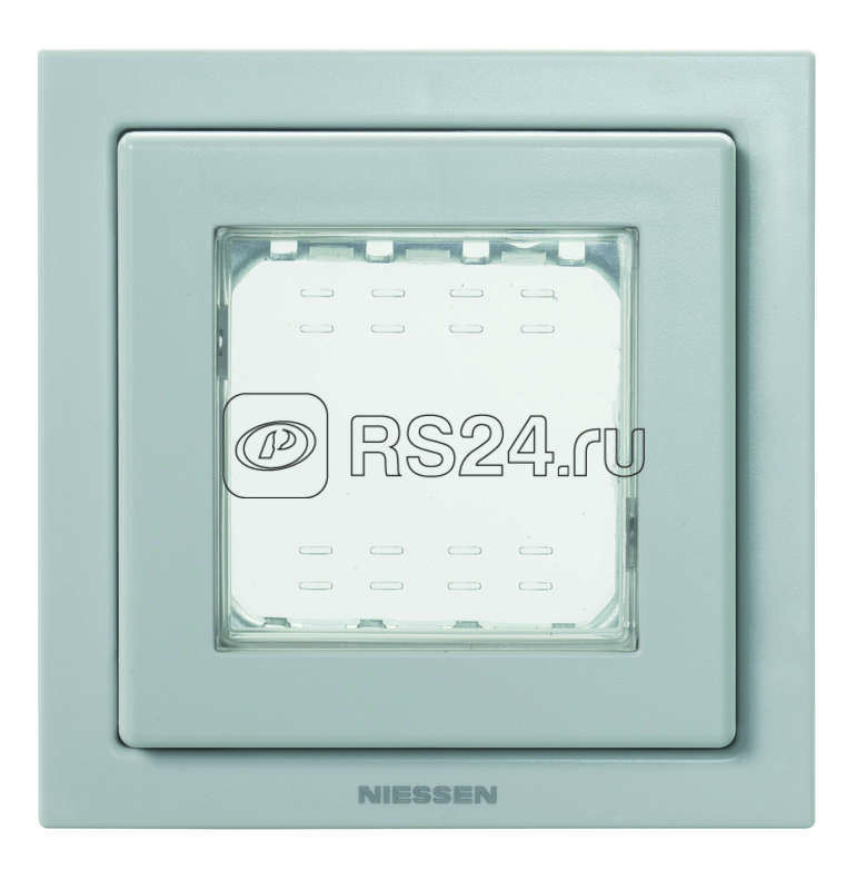 Рамка 1-м 2мод. Zenit монтажная + набор монтаж. IP55 FM сер. ABB N3271 GR купить в интернет-магазине RS24