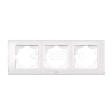 Рамка 3-м Cosmo бел. ABB 612-010200-227