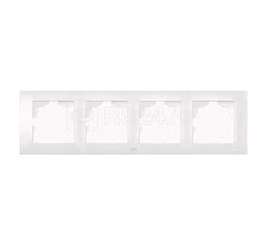 Рамка 4-м Cosmo бел. ABB 612-010200-228
