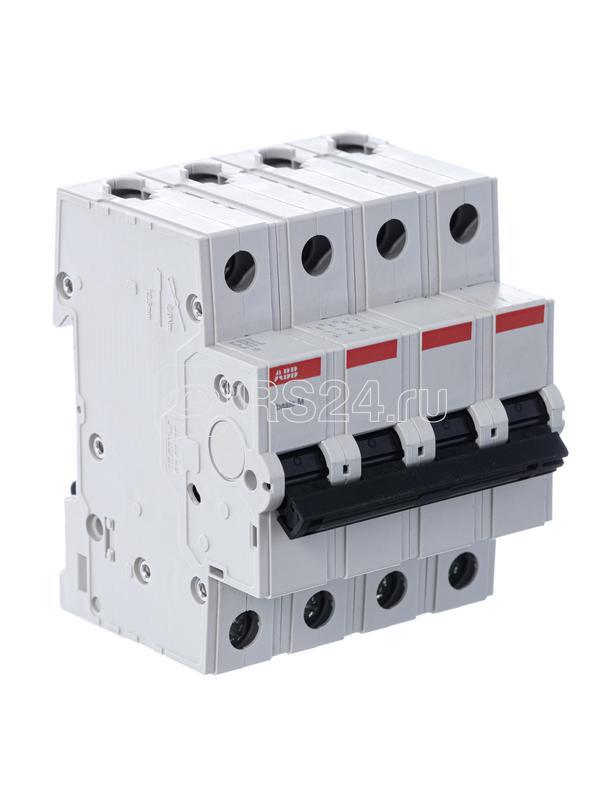 Выключатель авт. мод. 4п С 40А 4.5кА Basic M BMS414C40 ABB 2CDS644041R0404 купить в интернет-магазине RS24