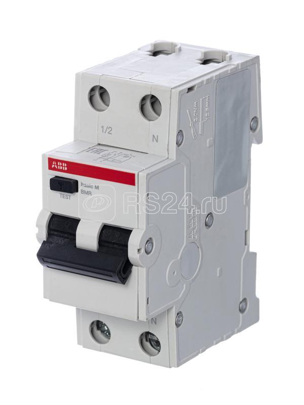 Выключатель авт. диф. тока 2п С 10А 30мА 4.5кА тип AC Basic M BMR415C10 ABB 2CSR645041R1104 купить в интернет-магазине RS24