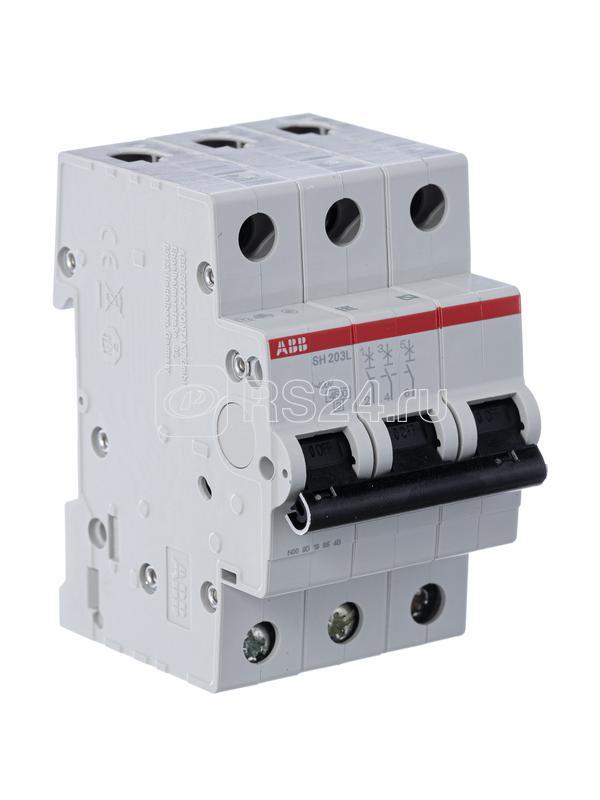 Выключатель автоматический модульный 3п C 25А 4.5кА SH203L ABB 2CDS243001R0254 купить в интернет-магазине RS24