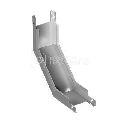 Угол для лотка неперф. верт. ЛУВГ 500х200-90 1.2мм поворот вверх полимер. ASD-electric EI-01.03.40.102 купить в интернет-магазине RS24