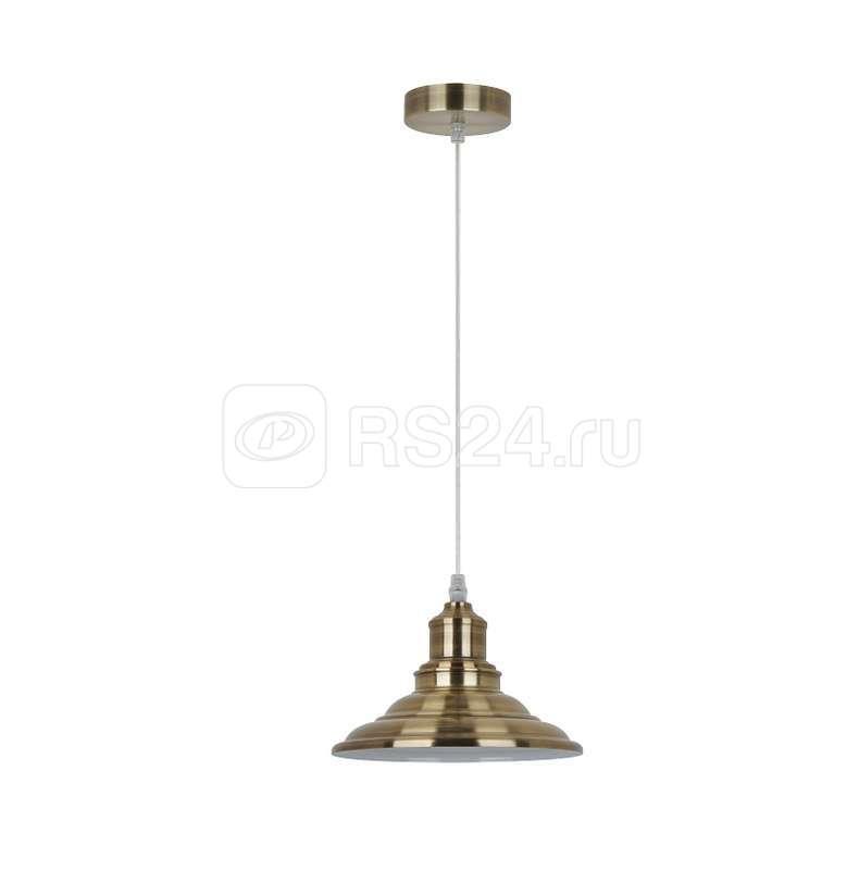 Светильник PL-600 С59 подвес. LOFT 1хE27 40Вт 230В страрин. медь Camelion 13095 купить в интернет-магазине RS24