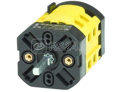Переключатель ступенчатый 3 полож. 1 фаза 20А ДКС AS2028R купить в интернет-магазине RS24