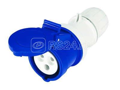 Розетка кабельная 16А 400В 3P+E безвинт. клеммы IP44 ДКС DIS3131646P купить в интернет-магазине RS24