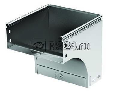 Угол для лотка вертикальный внешний 90град. 300х100 CDV 90 цинк-ламель ДКС 37475ZL купить в интернет-магазине RS24