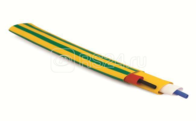 Трубка термоусадочная в рулоне тонкостен. 25.4/12.7 зел. (уп.50м) ДКС 2NA201R254G купить в интернет-магазине RS24