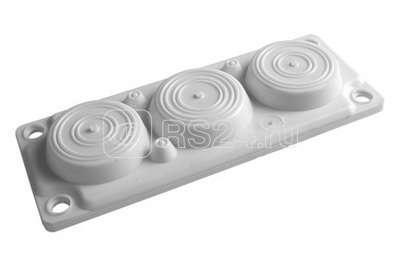 Ввод кабельный пластик V0 UL94. (6 отв.) IP65 ДКС R5HTC03