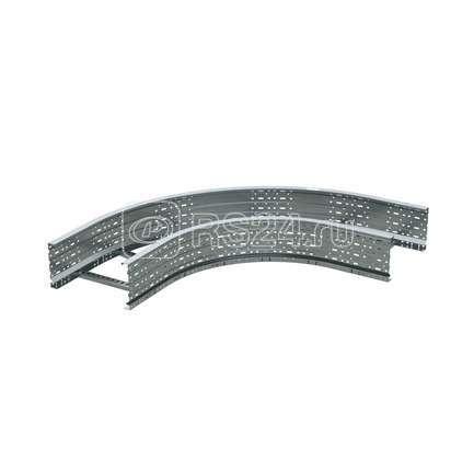 Угол для лестн. лотка горизонтальный 90град. 100х800 R-660 ДКС ULD618 купить в интернет-магазине RS24