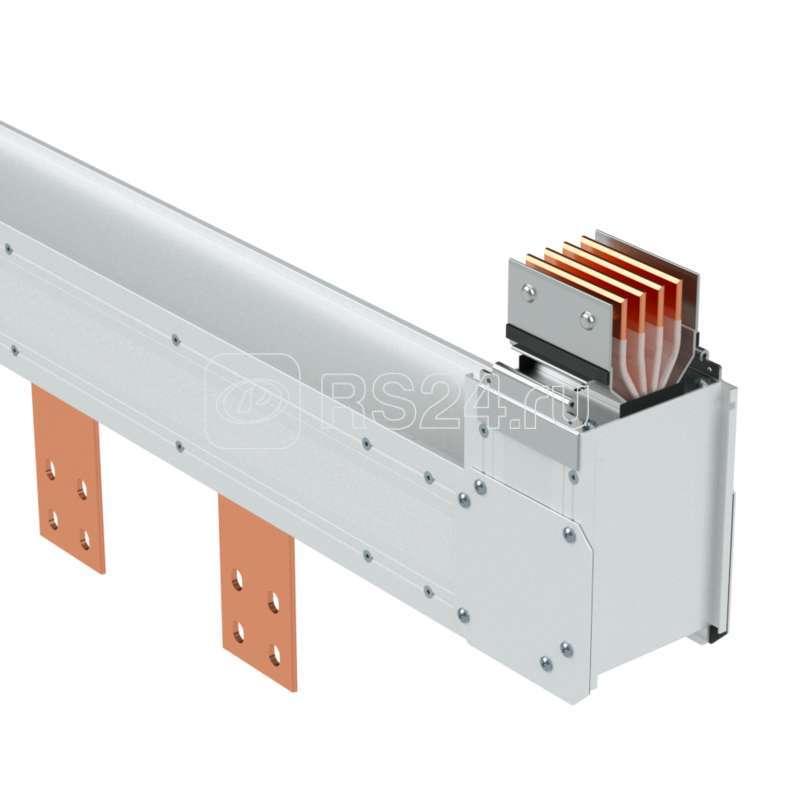 Угол верт. + секция подключения к сухому трансформатору тип 2 Cu 3P+N+Pe 6400А IP55 ДКС PTC64EVTP2AA000 купить в интернет-магазине RS24