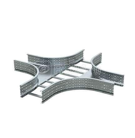 Ответвитель для лестн. лотка Х-образ. 150х1000 цинк-ламель ДКС ULX650ZL купить в интернет-магазине RS24