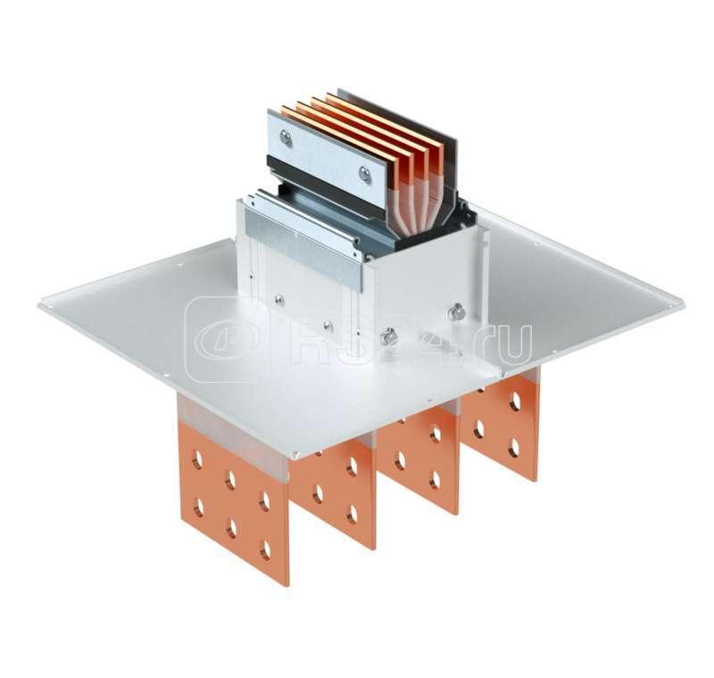 Секция подключения к трансформатору/щиту тип 2 Cu 3P+N+Pe+Fe 1250А IP55 ДКС PTC13GTST2AA000 купить в интернет-магазине RS24