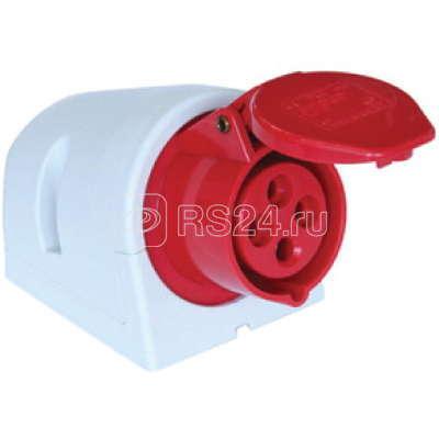 Розетка наруж. уст. 32А 400В 3P+E+N IP44 ДКС DISW040325 купить в интернет-магазине RS24