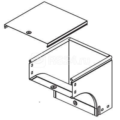 Угол для лотка вертикальный внешний 90град. 100х50 CDV 90 ДКС 37572 купить в интернет-магазине RS24