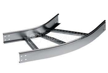 Угол для лестн. лотка горизонтальный 45град. 200х100 R-300 ДКС LC0132 купить в интернет-магазине RS24