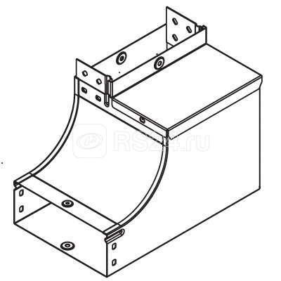 Угол для лотка вертикальный внутренний 90град. 500х50 CSSS гор. оцинк. ДКС 37597HDZ купить в интернет-магазине RS24