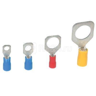 Наконечник кольц. изол. 1.5-2.5кв.мм отв. d10.2мм син. (уп.50шт) ДКС 2B10P купить в интернет-магазине RS24
