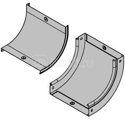 Крышка на угол вертикальный внутр. CS90 осн. 100 ДКС 38202
