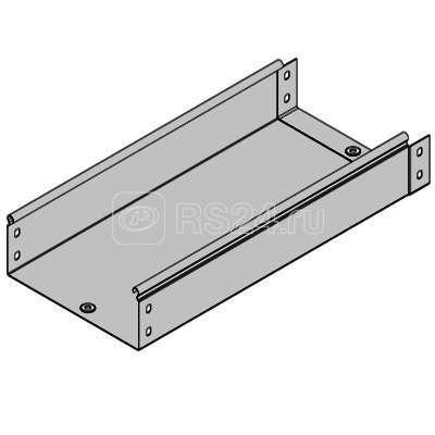 Лоток неперфорированный 100х50 L3000 сталь 0.7мм ДКС 35022