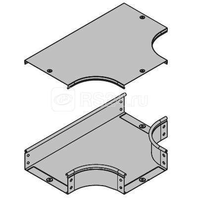 Отвод для лотка Т-образ. горизонт. DPT 100х50 ДКС 36122 купить в интернет-магазине RS24
